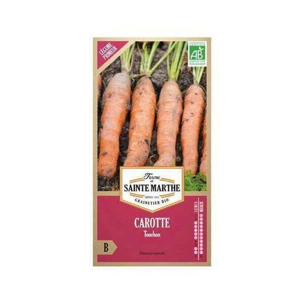 La ferme St-Marthe - Carotte Touchon - Semences reproductibles bio