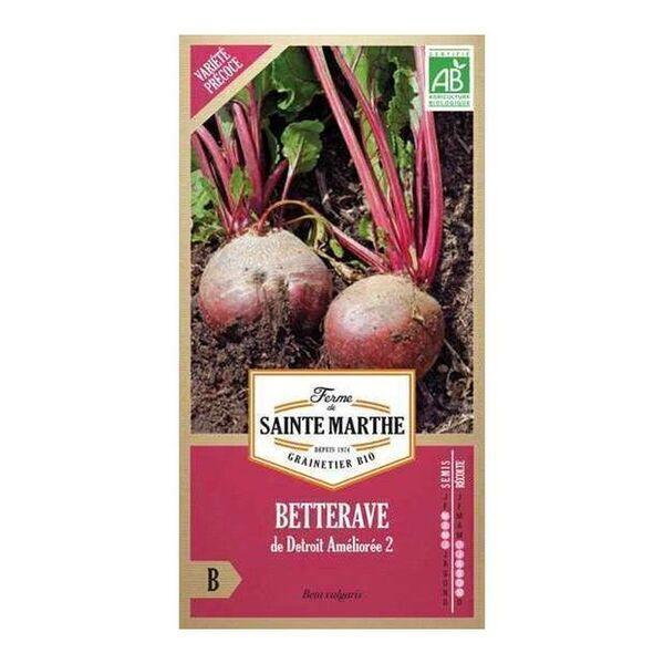 La ferme St-Marthe - Betterave de Detroit bio - Graines à semer