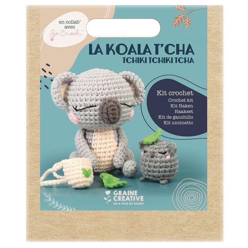 Graine Créative - Ma peluche en crochet Amigurumi - Koala