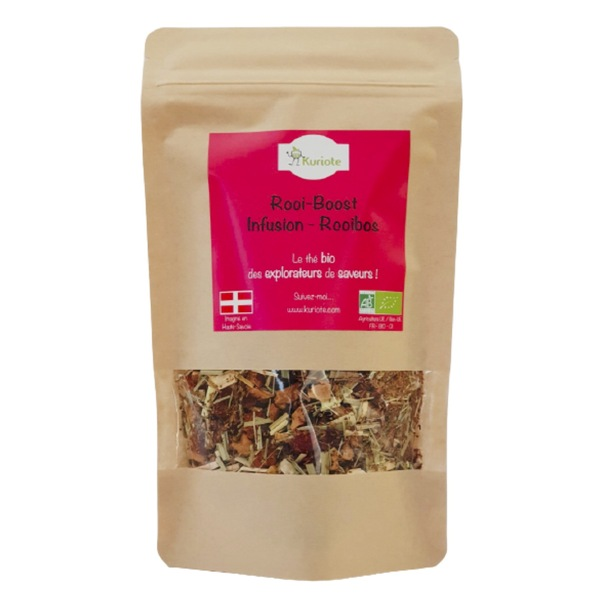 Kuriote - Rooi-Boost - Infusion / Rooibos Boost - 80g