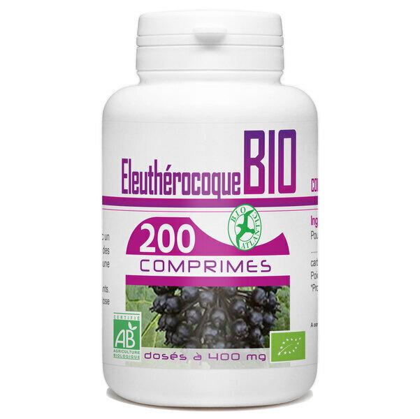 Bio Atlantic - Eleuthérocoque Bio - 400 mg - 200 comprimés