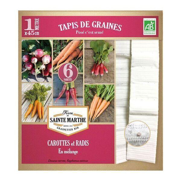 La ferme St-Marthe - Carottes et Radis - Semences reproductibles bio