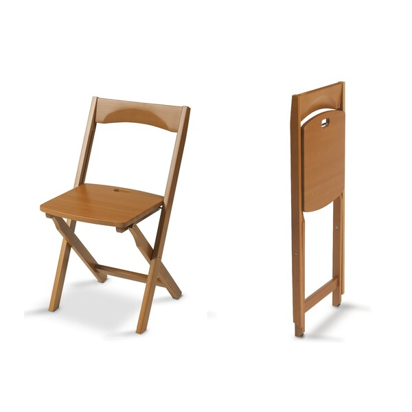 Europe & Nature - 2 chaises en bois massif