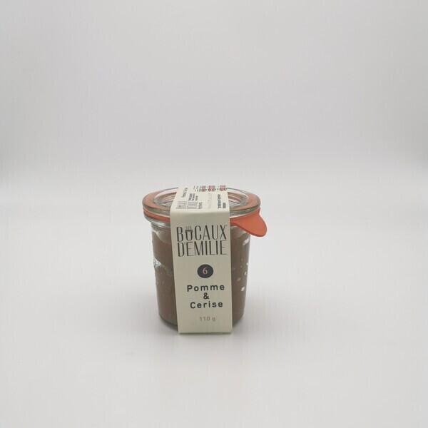 Les Bocaux d'Emilie - Pomme et Cerise 110g
