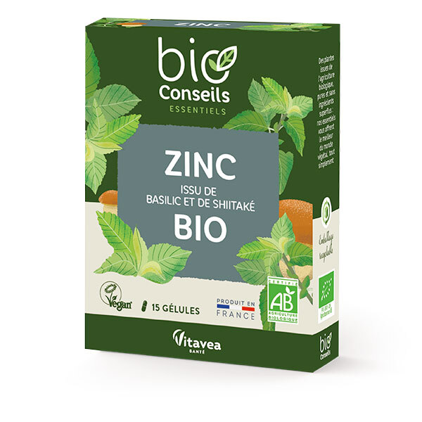 Bio Conseils - Zinc 15 gélules