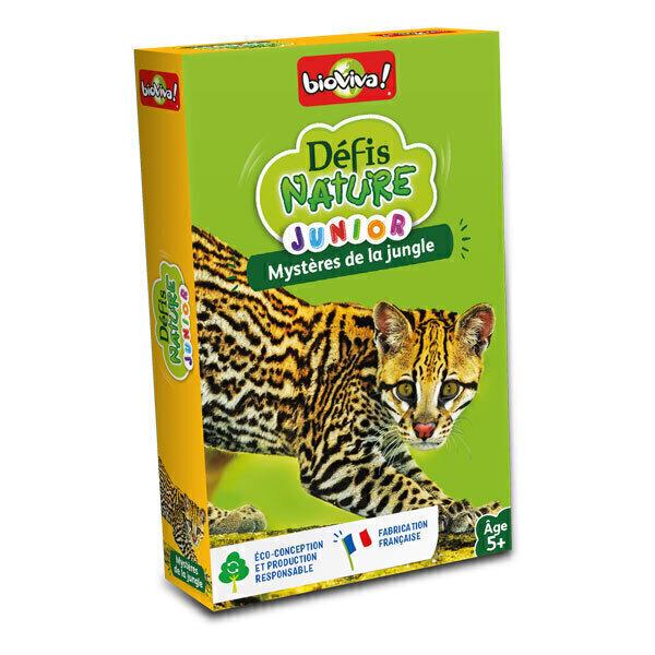 Bioviva - Défis Nature Junior - Mystère de la jungle - Dès 5 ans