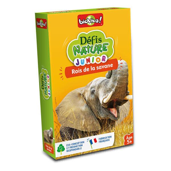 Bioviva - Défis Nature Junior - Rois de la savane - Dès 5 ans