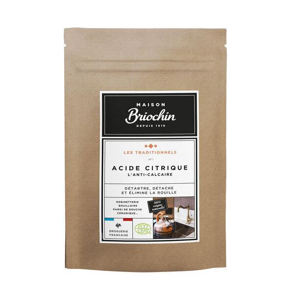 Maison Briochin - Acide citrique Ecocert sachet kraft 450g