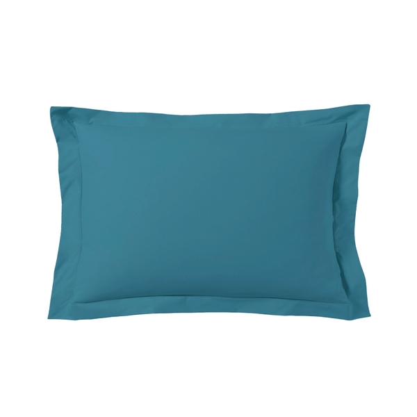 Zôdio - Taie d'oreiller rectangle bleu postal 50x70cm