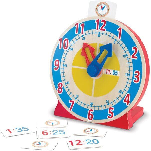 Melissa & Doug - Horloge tourne et dis l'heure