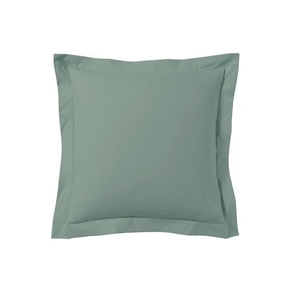 Zôdio - Taie d'oreiller carrée gris fumée 65x65cm