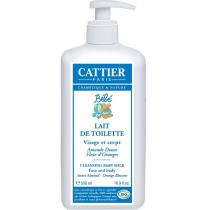 Cattier - Lait de toilette Bébé Bio 500 ml