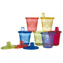 Nuby - Training Cups - 6 Pack with Spouts