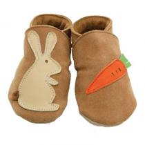 Starchild - Pantofole in cuoio Starchild Rabbit & Carrot