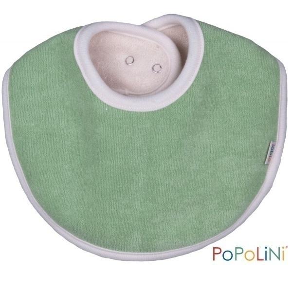 Popolini - 1 Bavoir en boucle Bio couleur au choix
