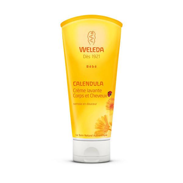 Weleda - Crème lavante corps et cheveux bébé