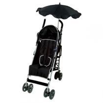 Babysun -  Flexibler Anti-UV-Schirm, schwarz