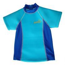 Babysun - Weiches Anti-UV-BabyT-Shirt, blau