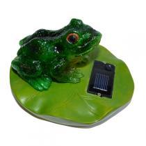 Green Corner 2 - Solar - Teichdeko Frosch