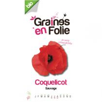Graines en Folie - Organic Wild Poppy Seeds