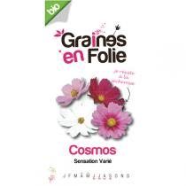 Graines en Folie - Variety of Organic Cosmos Flower Seeds