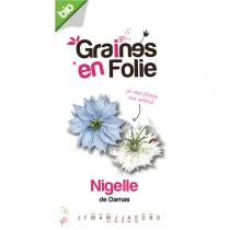 Graines en Folie - Ragged Lady (Nigella damascena) Flower Seeds