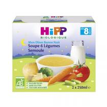 HiPP - Semolina 6 Vegetable soup