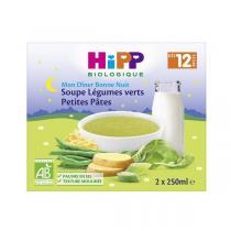 HiPP - Soupe Légumes Verts & Petites pâtes