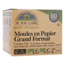 If You Care - 60 Moules en papier sans chlore