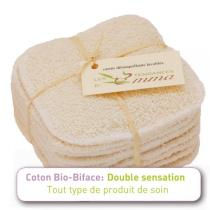 Les Tendances d'Emma - Biface 10 face wash cloths