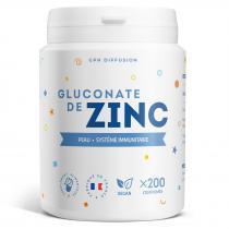 Gph diffusion - Gluconate de zinc - 15 mg - 200 comprimés