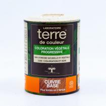 Terre de couleur - Coloration Végétale Progressive Cuivré Base 100 g