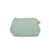 PAPATE - Trousse de Toilette en Coton Bio - Vert
