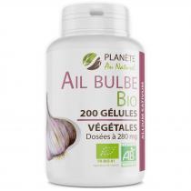 Planète au Naturel - Ail Bio - 280 mg - 200 gélules végétales