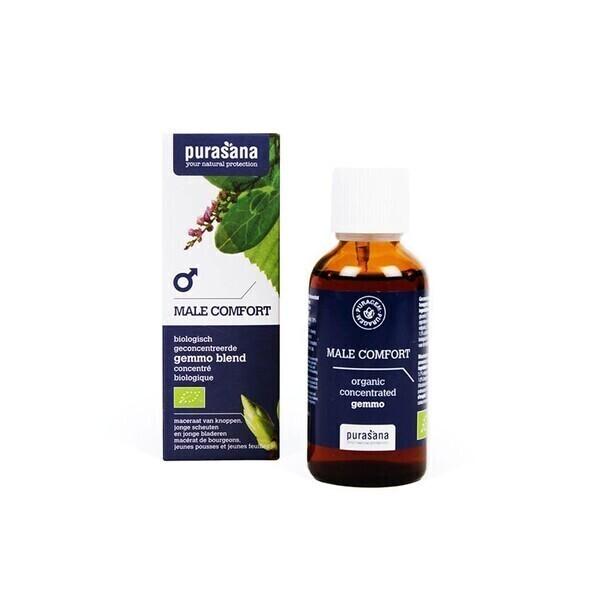 Purasana - Mâle confort bio - Gemmothérapie