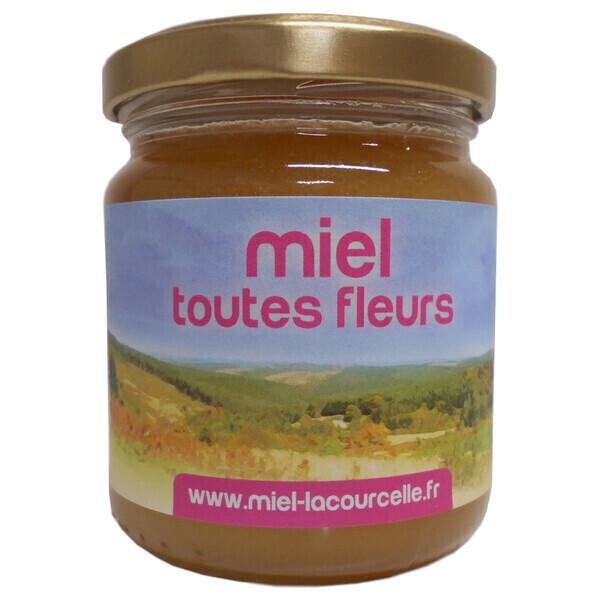 Lacourcelle Benoit - Miel toutes fleurs Bio - pot de 250g