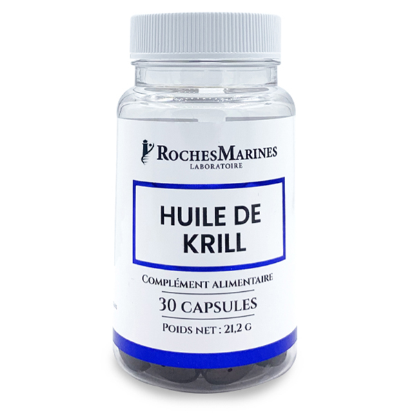 Roches Marines - Huile de krill - 30 capsules