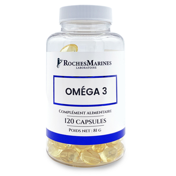 Roches Marines - Omega 3 - 120 capsules