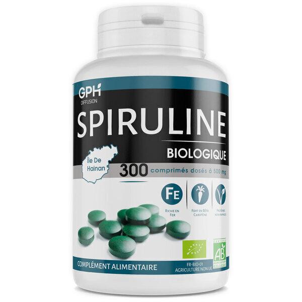 Gph diffusion - Spiruline Bio - 500 mg - 300 comprimés