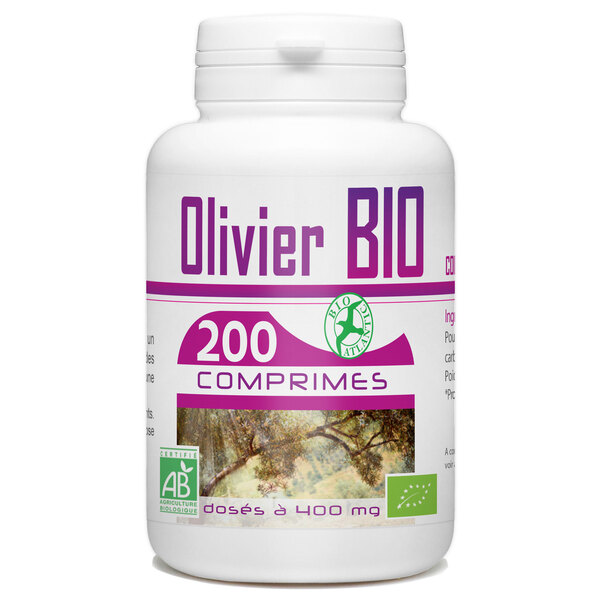 Bio Atlantic - Olivier Bio - 400 mg - 200 comprimés