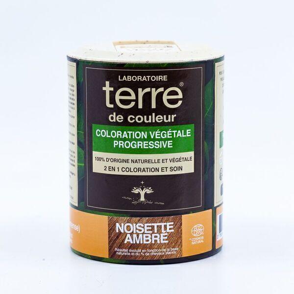 Terre de couleur - Coloration Végétale Progressive Noisette Ambré 100 g