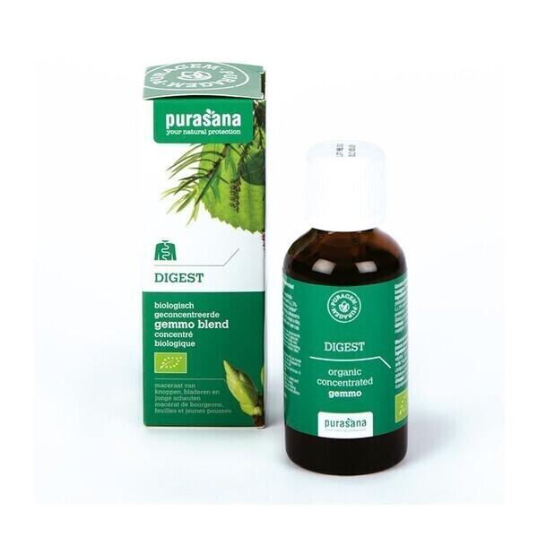 Purasana - Digest bio - Gemmothérapie