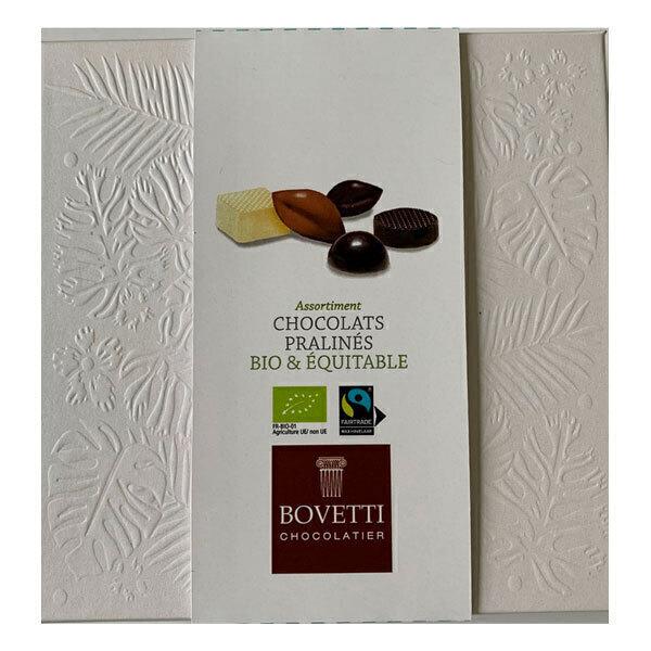 Bovetti Chocolats - Boîte assortiment de pralinés 120g