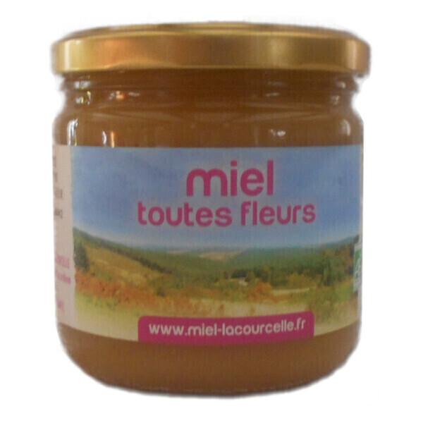 Lacourcelle Benoit - Miel toutes fleurs Bio - pot de 500g
