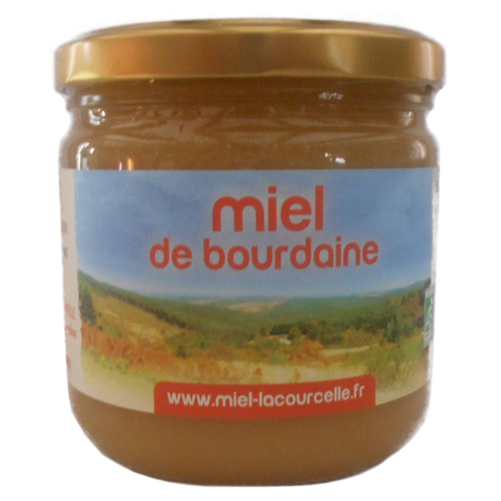 Lacourcelle Benoit - Miel de bourdaine Bio - pot de 500g