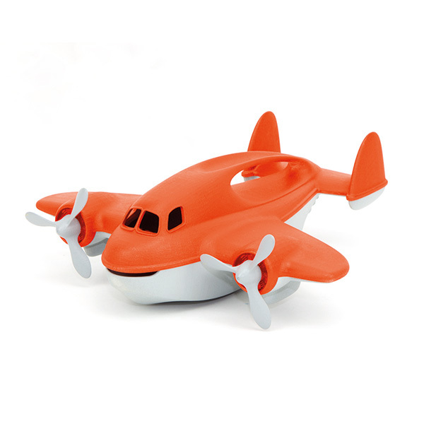 Green Toys - Avion anti-incendie rouge - Dès 1 an