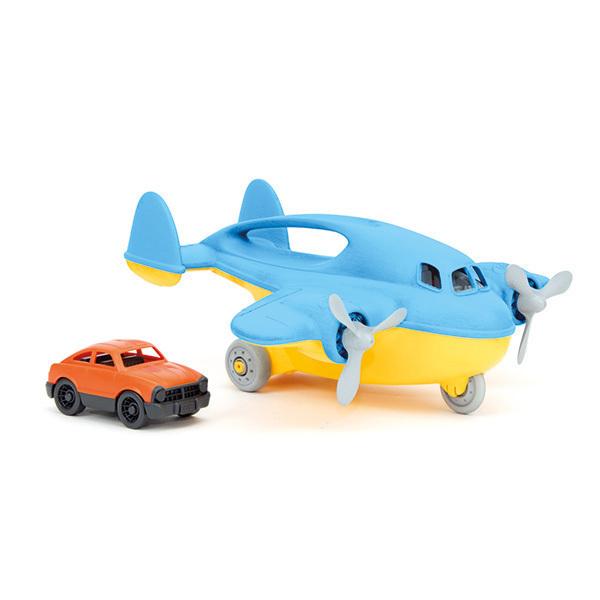 Green Toys - Avion-cargo avec mini voiture - Dès 3 ans