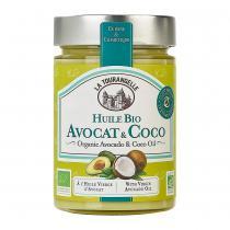 La Tourangelle - Huile d'Avocat & Coco Bio - 314ml