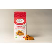 La P'tite Chipeuse - Mini Financiers Amande Framboise Bio 120 gr