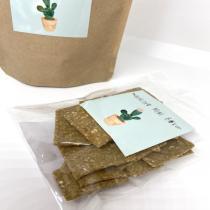 Healthy mini box - Crackers de fenouil et romarin  100G apéro bio